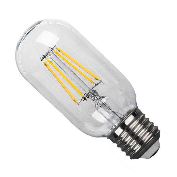 Λάμπα LED E27 T45 4W 230V 400lm 320° Edison Filament Retro Θερμό Λευκό 2700k Dimmable