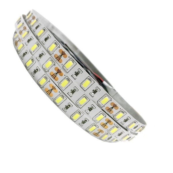 Ταινία LED Λευκή Professional Series 5m 20W/m 12V 60LED/m 5730 SMD 2560lm/m 120° IP20 Ψυχρό Λευκό 6000k
